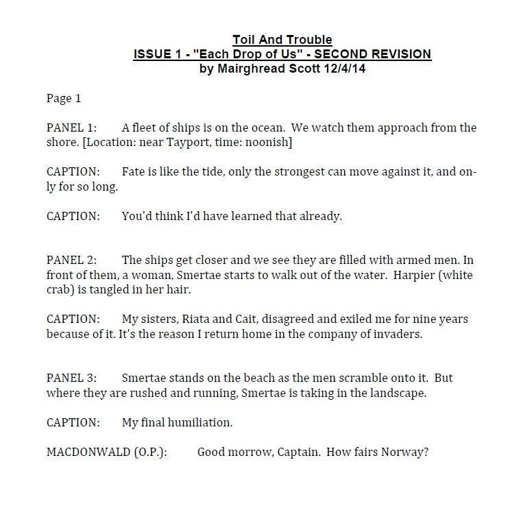 Script page 1